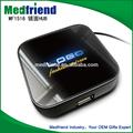 أسلوب جديد منخفض التكلفة mf1516 حار بيع usb محور ميناء 4 2.0 مضاءة الهاتفي الموانئ موزع يو اس بي مع شعار