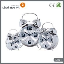 hot selling metal twin bell alarm clock