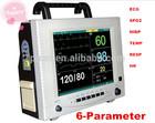 TOP-SELLING Thermal printer + 12-inch ECG,RESP,NIBP,SpO2,TEMP,PR vital sign monitor/ Patient Monitor 6 parameter 100% guarantee