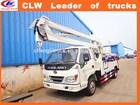 China Exported 6 Wheeler High platform Operation Truck 4*2 hook lift truck