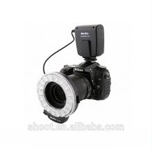 External Lithium 4x AA Meike FC-110 Ring Flash Light for Canon Nikon Olympus Pentax DSLR