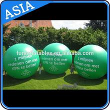 Colorful Unique Tarpaulin Advertising Air Balloons Safe Hot Air Ball
