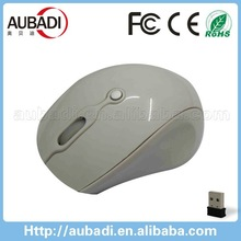 Personality Top Selling Promotional USB Wireless 10M Working Distance Smooth Design 2.4G Mouse