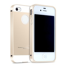 dustproof metal bumper for iphone 4s case, wholesale metal phone covers for iphone 4 shell