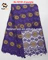 grossista de vestuário na nigéria cording bordado do laço do laço africano vestidos