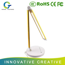Modern and Simple Design No Shadow Reading Lamp With Clock