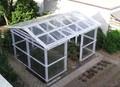 alta qualidade de plástico transparente da telha de telhado