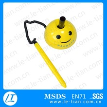 LT-W761 Fancy yellow smile face plastic table pen