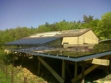 100W thin film solar power panel best price for solar system