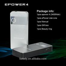 hot new products for 2015 electronics 3400mah box mod ecig E Power 4