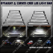 "288w Curved LED Work Light Bar 50"" LED Bar Light For 4x4 Accessories LED Work Lamp"