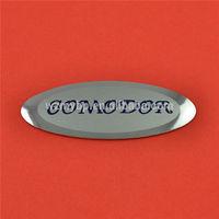 aluminum nameplates, metal brand logo,metal logo maker