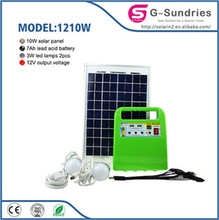 High power high quality long life antique backup solar generator