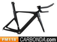 Chinese OEM time trial specialized carbon frame,carbon tt frame fork seatpost stem and tt bar