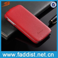 Wholesale price case for samsung galaxy s4, leather phone case