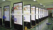 42/55/65 Inch wifi kiosk networking brightness Advertising Player