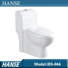 HS-066 Foshan factory one piece ceramic standard toilet dimensions