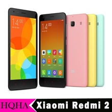 "Original Xiaomi Redmi 2 Hongmi 2 Smartphone 4G FDD LTE WCDMA Android 4.4 1G RAM 4.7"" IPS Red Rice 2 Mobile Phone"