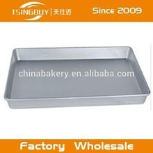 Cake baking tray/aluminum sheet pan/aluminum commercial baker half sheet