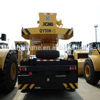 XCMG QY50 truck crane/used hiab crane