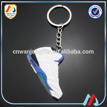 Running Shoe Keychain,Keychain Wholesale,3D PVC Keychain