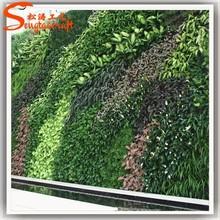 High-end grass artificial three-dimensional green artificial grass wall manufacturers artificial grass prices