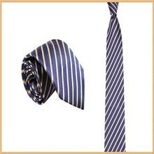 For Gentlemen Cheap Striped Pattern 100% Silk Tie