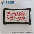 Amortiguador de la felpa o almohada, Modificado para requisitos particulares juguetes, Ce / ASTM seguridad stardard
