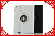 2015 Genuine leather 360 degree rotate tablet case for ipad