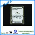 Auto-adesivo de papel kraft impressão autocolante/certificação ul