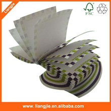 advertisement twisted sticky notes ,memo pad,advertisement spiral papers block