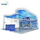 customer design trade show exhibition booth & building services Truss booth exhibition services,The exhibition design company