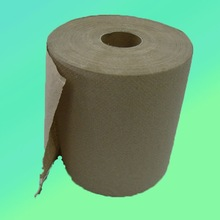 Industrial brown towel hand tissue roll paper