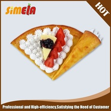 fake food of artificial crepes