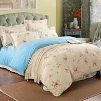 2015 Luxury 100% Cotton beige king size bedding sets cheap Hotel bedding linen set