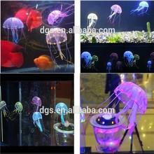 Hot Selling Newest Artificial Jellyfish/ Silicone Aquarium Decoration/ Fish Aquarium Accessories