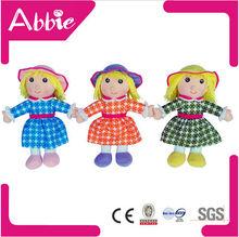 Cartoon Dolls DIY Plush Teddy Bear Soft Children Mini Dolls