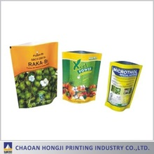 OEM food grade high barrier aluminum foil retort pouch with printing
