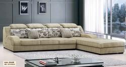 FOSHAN 2068# modern european style furniture living room sofa bed upholstery fabric