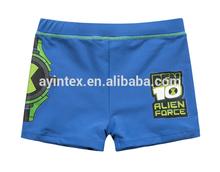 OEM Customized men's swimming boxer shorts nylon/spandex