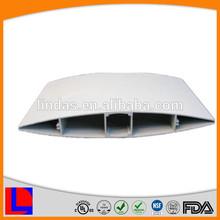 White anodized powder coating aluminum shutter aluminum extrusion roller shutter parts