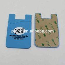 3m Sticker Silicone Card Holder Wallet