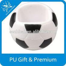 Promotional Anti Stress Ball of PU Basketball Holder