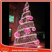 Expensive musical fiber optic christmas tree