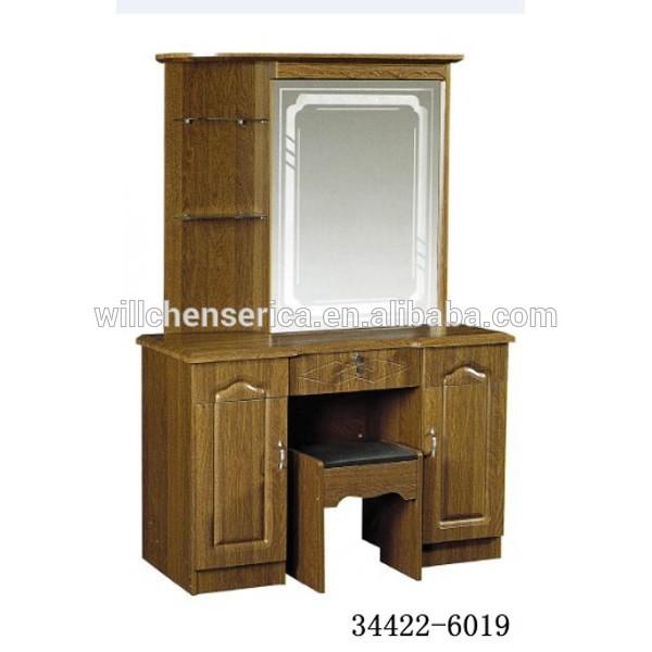 2015 New Design 34422 6019 Wooden Mdf Golden Dresser