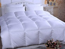 Wholesale hotel white goose down quilt/excellent home textile