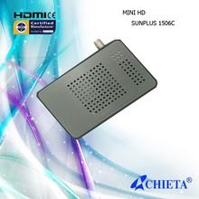 Sunplus 1506c Chipset Digital Mini FTA HD DVB-S2 Satellite TV Receiver