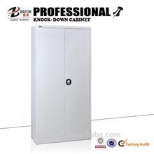 new design lockable cheap kd 2 metal swing door cupboard