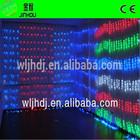 Colorful decorative plastic fiber optic modern lighting curtain lighting led christmas curtain waterfall lights
