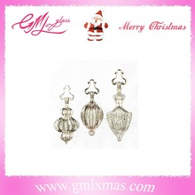 Best Selling holiday X'mas decoration mercury glass Christmas ball, hot sale vintage glass ornaments in US